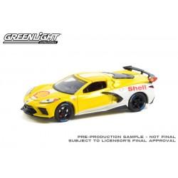 Greenlight Running on Empty Series 13 - 2021 Chevrolet Corvette C8 Stingray Coupe Shell Oil