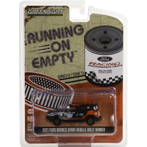 Greenlight Running on Empty Series 13 - 2021 Ford Bronco Sport