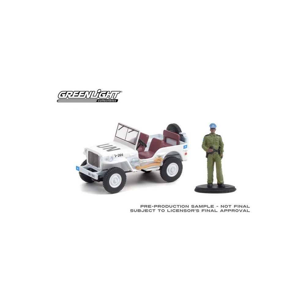 Greenlight The Hobby Shop Series 11 - 1942 Willys MB Jeep