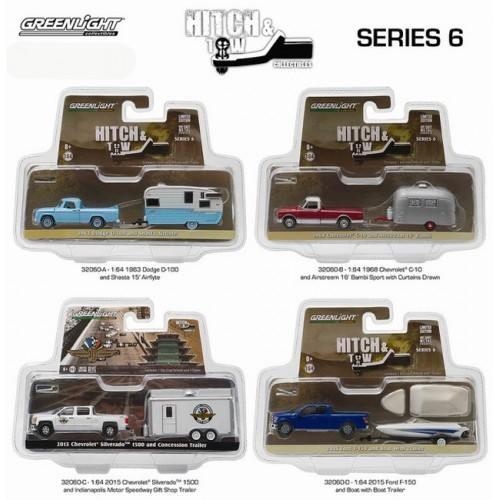 Hitch and Tow Series 6 - Set