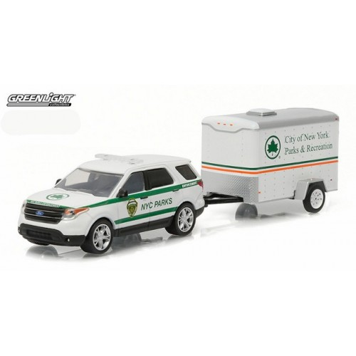 Hitch and Tow Series 7 - 2015 Ford Explorer and Small Cargo Trailer