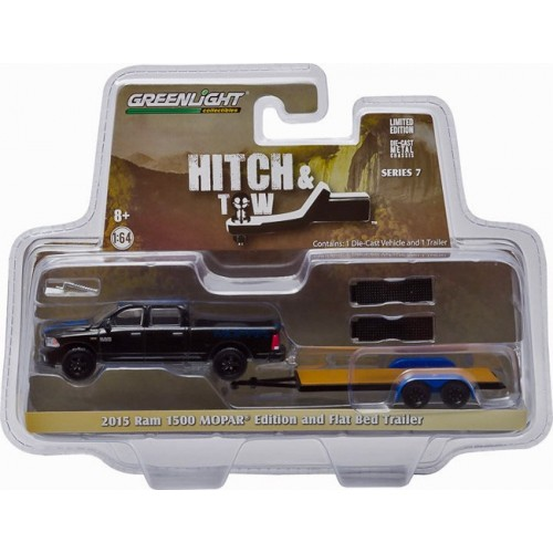 Hitch and Tow Series 7 - 2015 RAM 1500 and Flat Bed Trailer