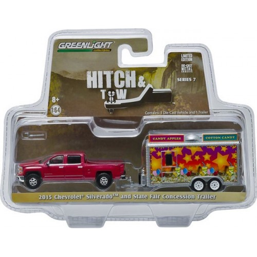 Hitch and Tow Series 7 - 2015 Chevy Silverado and Concession Trailer