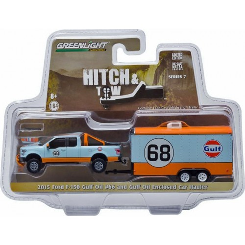 Hitch and Tow Series 7 - 2015 Ford F-150 and Enclosed Car Hauler
