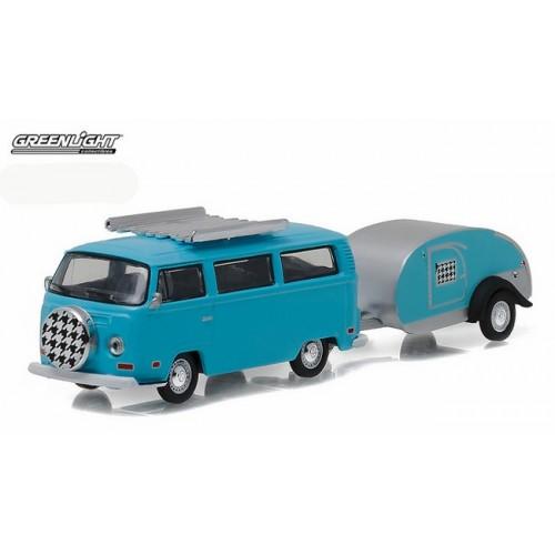 Hitch and Tow Series 8 - 1972 Volkswagen Van and Teardrop Trailer