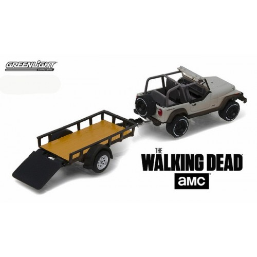 Hitch and Tow Series 8 - Jeep Wrangler YJ and Utility Trailer