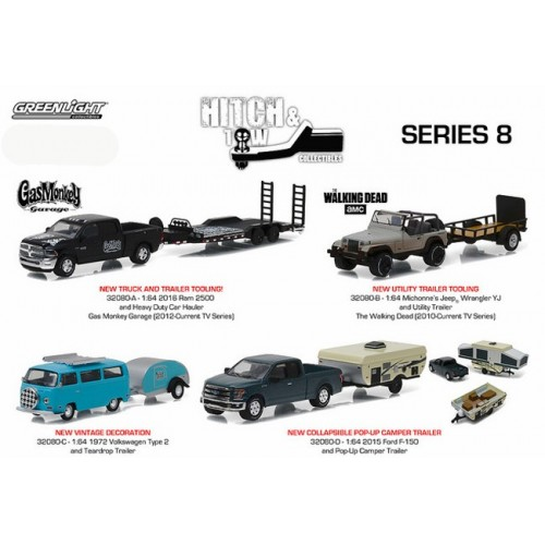 Hitch and Tow Series 8 - Set
