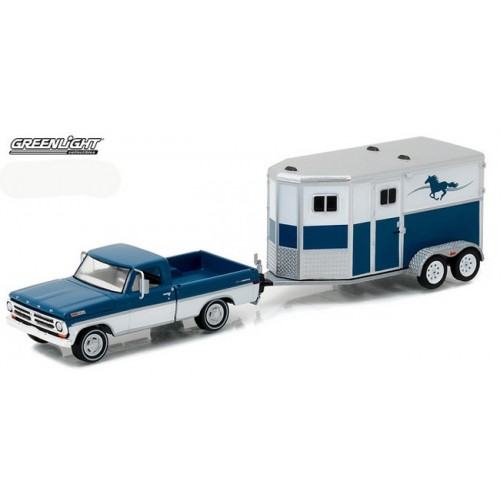 Hitch and Tow Series 9 - 1972 Ford F-100 and Horse Trailer