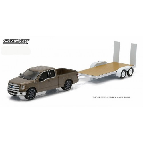 Hitch and Tow Series 5 - 2015 Ford F-150 and Flatbed Trailer