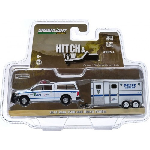 Hitch and Tow Series 4 - 2014 Ram 1500 and Horse Trailer NYPD