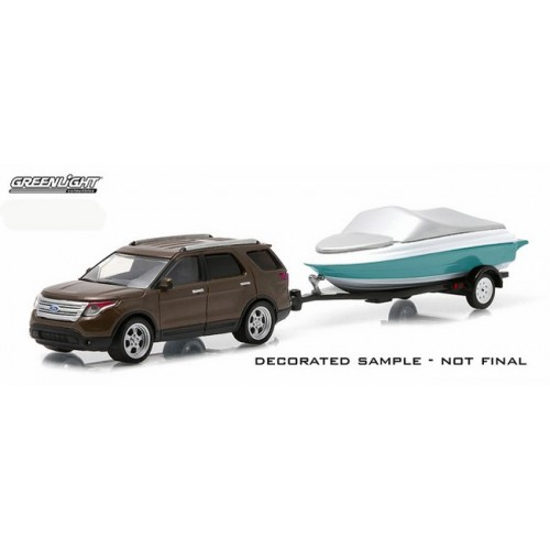 Hitch and Tow Series 4 - 2013 Ford Explorer and Boat with Trailer