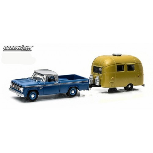 Hitch and Tow Series 3 - 1966 Dodge D-100 and Airstream 16' Bambi