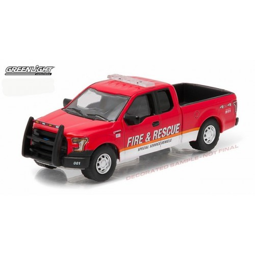 Hobby Exclusive - 2015 Ford F-150 Fire and Rescue Truck
