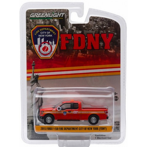 Hobby Exclusive - 2015 Ford F-150 Pickup Truck FDNY