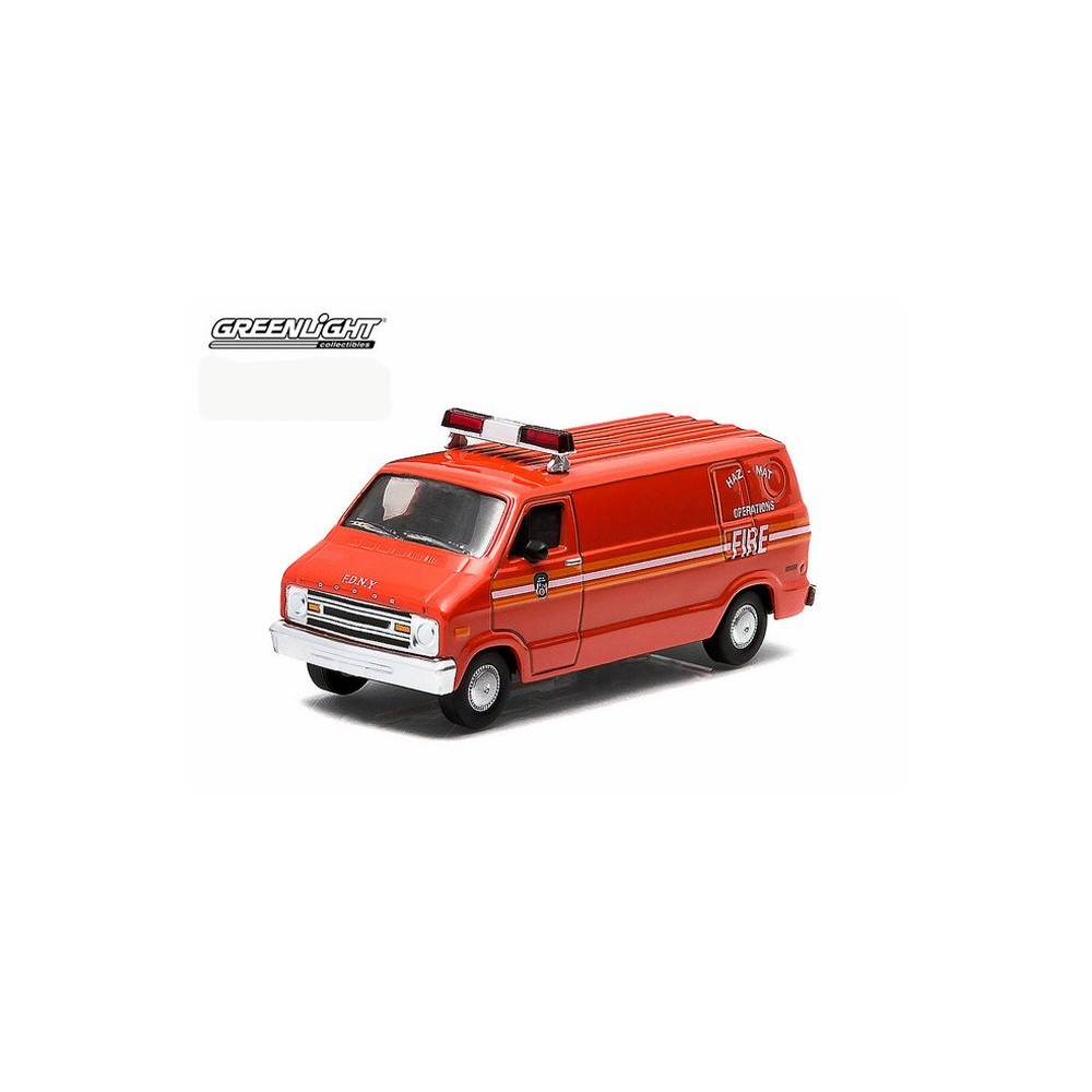 Hobby Exclusive - 1976 Dodge B-100 Haz-Mat Operations Van