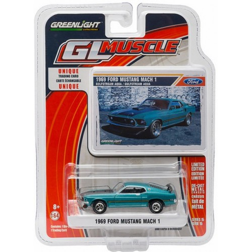 GL Muscle Series 15 - 1969 Ford Mustang MACH I