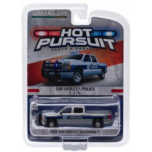 Hot Pursuit Series 17 - 2015 Chevy Silverado Police Truck